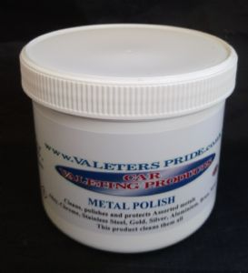 250ml Metal Cleaner & Polish For All Metals
